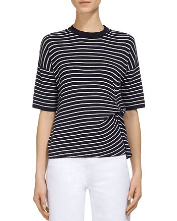 Whistles - Striped Knit Top