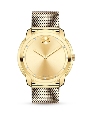Movado Bold Diamond Watch, 44mm