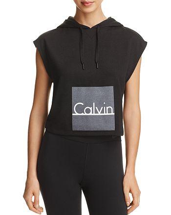 Calvin Klein - ID Cropped Hoodie