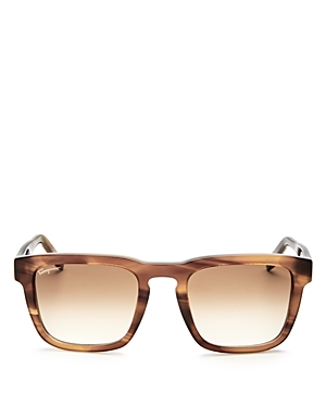 Salvatore Ferragamo Square Sunglasses, 50mm