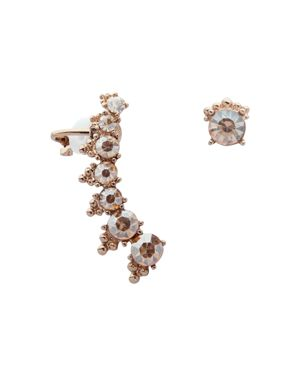 Marchesa Mismatch Crawler Earrings