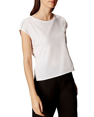 Karen Millen Stitch-Detail Box Top