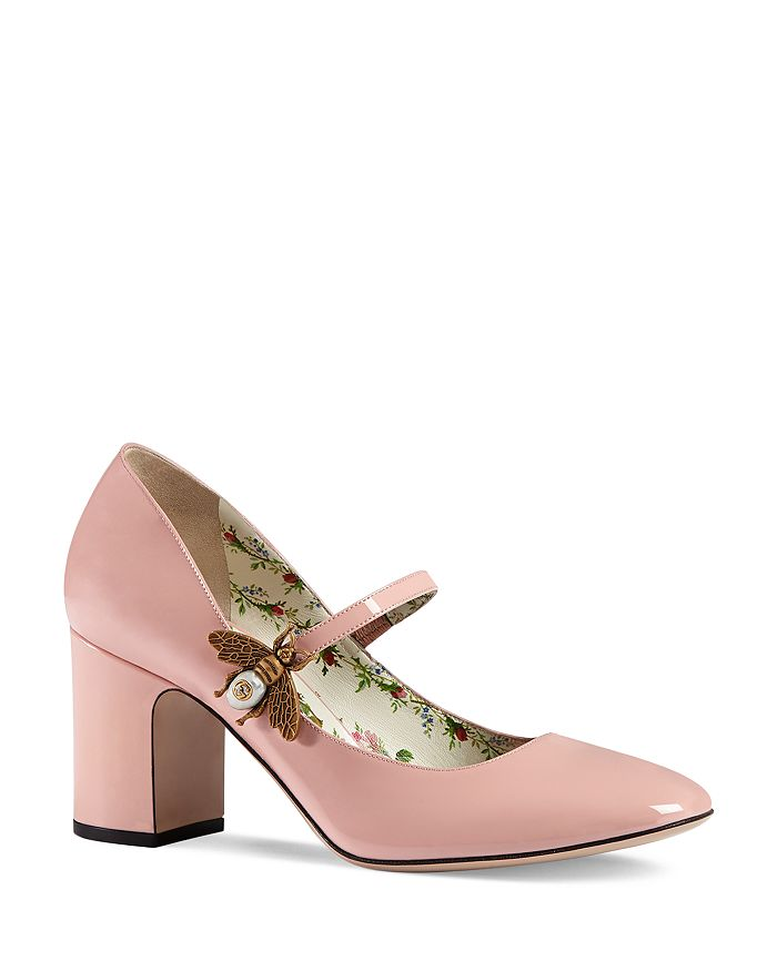 Gucci - Women's Bee Mary Jane Pumps