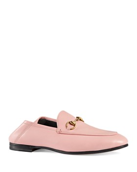 Gucci - Women's Brixton Apron-Toe Loafers