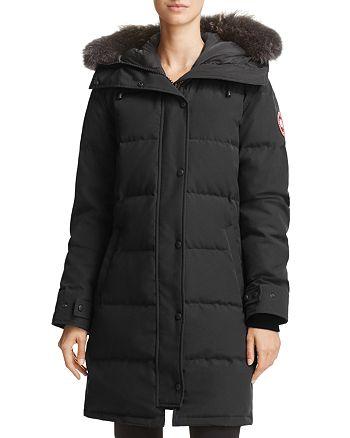 Canada Goose - Shelburne Gray Fur-Trim Parka Down Coat - 100% Exclusive