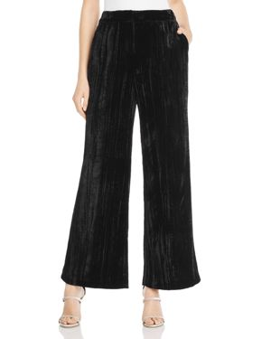 Whistles Crushed Velvet Pants - 100% Exclusive