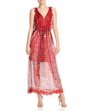 Elie Tahari McKenna Floral Maxi Dress