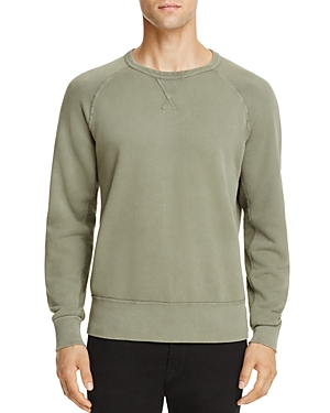 7 For All Mankind Reverse Terry Side Panel Sweatshirt