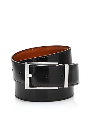 Salvatore Ferragamo Men's Square Buckle Reversible Belt
