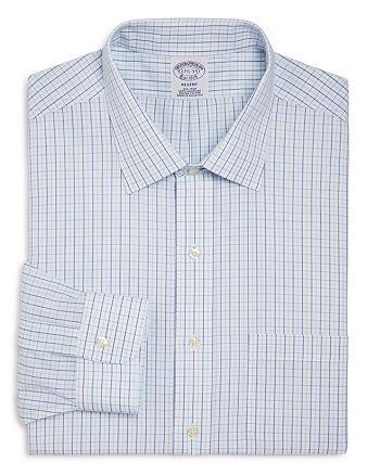 Brooks Brothers - Alternating Grid Check Classic Fit Dress Shirt