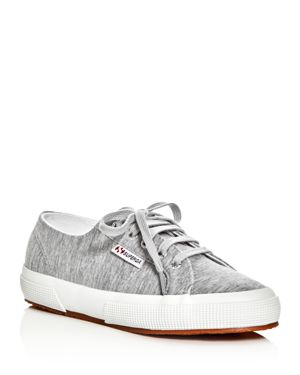 Superga Classic Jersey Lace Up Sneakers