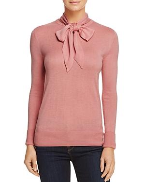 -Whistles Annie Sparkle Tie-Neck Sweater - 100% Exclusive