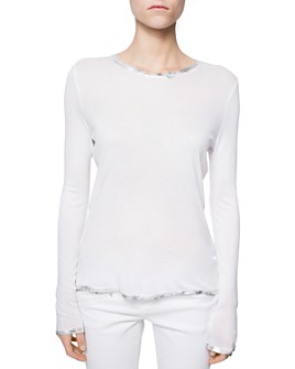 Zadig & Voltaire - Willy Foil-Trim Spi Tee