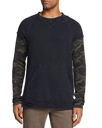 Hudson - Striker Camo Sleeve Sweatshirt