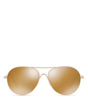 Oliver Peoples - Unisex Rockmore Mirrored Sunglasses, 58mm