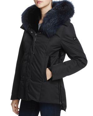 Dawn Levy Luka Fur Trim Down Coat - 100% Exclusive