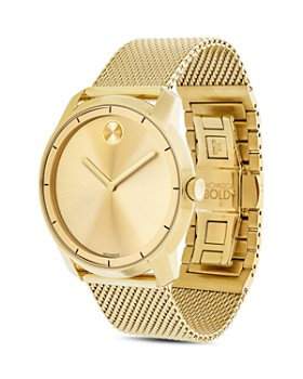 Movado BOLD - Museum Dial Watch with Mesh Link Bracelet, 44mm