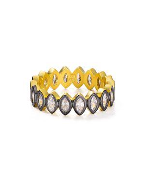 Freida Rothman Marquise Geo Ring