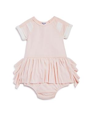 Splendid Girls' Ruffled Dress & Bloomers Set - Baby