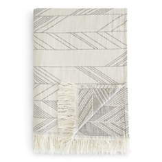 Coyuchi Arrowhead Organic Cotton and Linen Reversible Throw - Bloomingdale's Registry_0