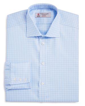 Turnbull & Asser Multi Check Regular Fit Dress Shirt
