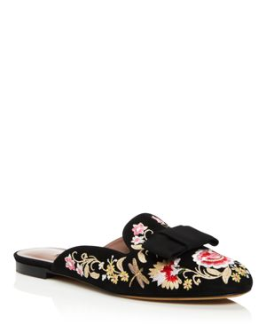 Tabitha Simmons Masha Embroidered Mules - 100% Exclusive