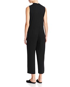 Eileen Fisher - Mock Neck Cropped Jumpsuit