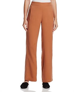 Eileen Fisher Wide-Leg Straight Pants
