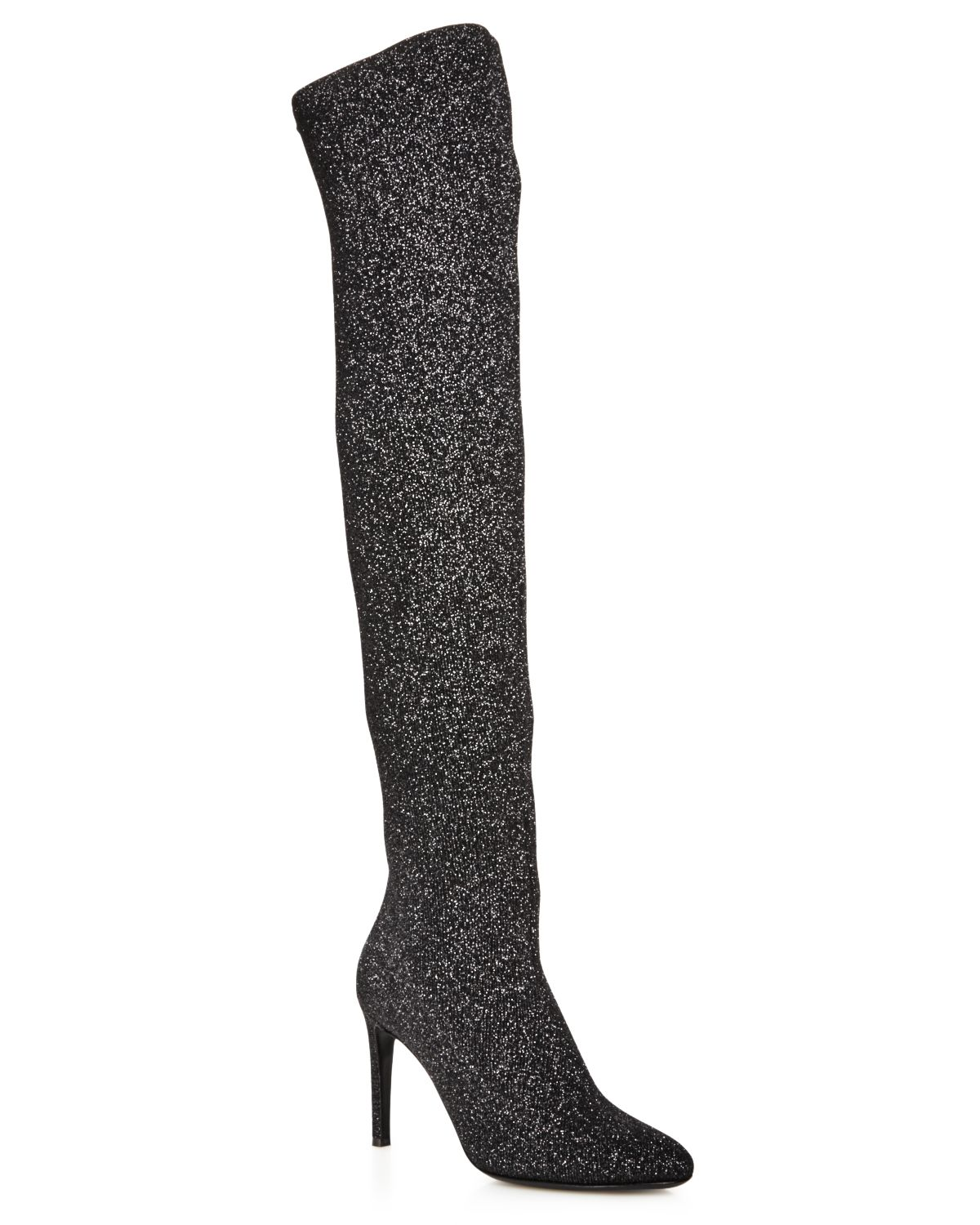 Giuseppe Zanotti Stretch Lurex Over-the-Knee Boots
