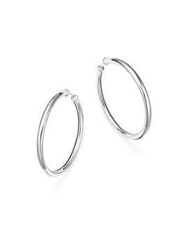 Bloomingdale's - Sterling Silver Endless Tube Hoop Earrings - 100% Exclusive