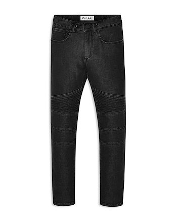 DL1961 - Boys' Slim-Fit Moto Jeans with Drawstring - Little Kid