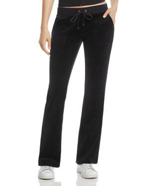 Juicy Couture Black Label Del Rey Ii Velour Track Pants