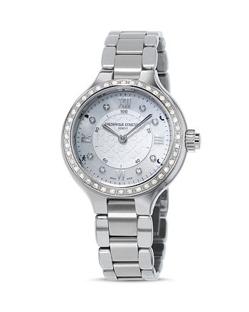 Frederique Constant - Horological Smartwatch with Diamonds, 34mm