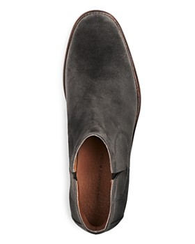 John Varvatos Star USA - Waverly Covered Suede Chelsea Boots