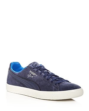 Puma Men's Clyde Normcore Suede Lace Up Sneakers