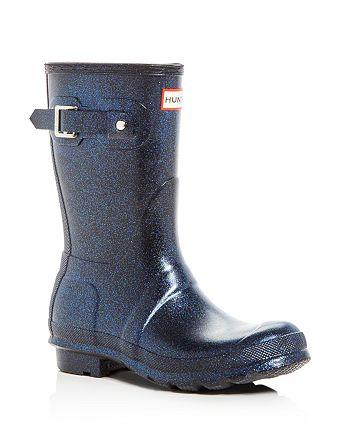 Hunter - Women's Original Short Starcloud Glitter Rain Boots