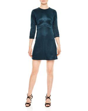 Sandro Mabel Chevron Mini Dress