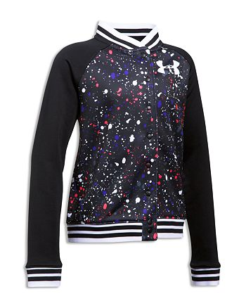 Under Armour - Girls' Paint Splatter Bomber Jacket - Big Kid