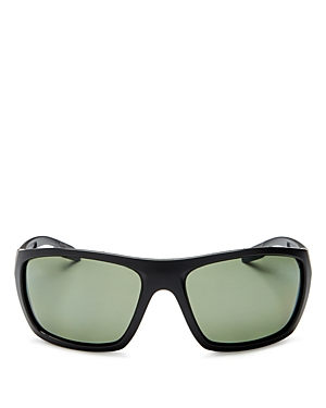 Prada Linea Rossa Sport Wrap Polarized Sunglasses, 61mm