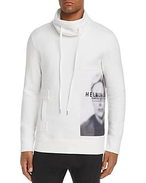 Helmut Lang Graphic Funnel-Neck Sweatshirt