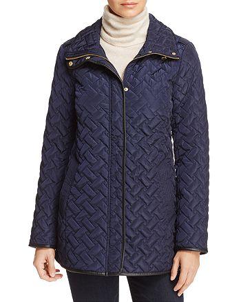 Cole Haan - Zip-Front Quilted Jacket