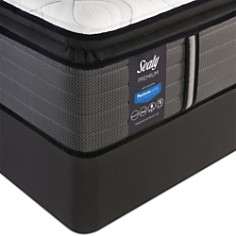 Sealy Posturepedic Satisfied Cushion Firm Euro Pillow Top Mattress Collection - Bloomingdale's_0