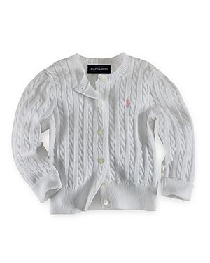 Polo Ralph Lauren Girls Cable Cardigan Sweater  Big Kid