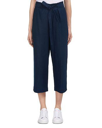 Whistles - Drawstring Cropped Pants