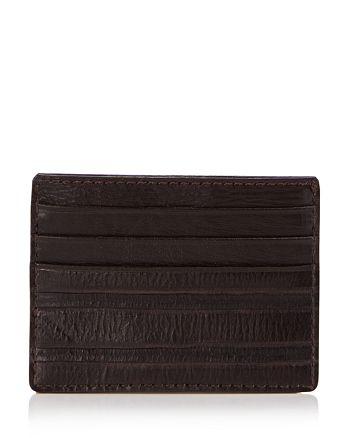 John Varvatos Star USA - Clawed Texture Credit Card Case