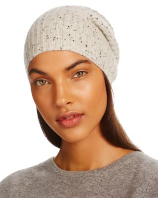 C By Bloomingdale's C BY BLOOMINGDALE'S DONEGAL CASHMERE HAT - 100% EXCLUSIVE