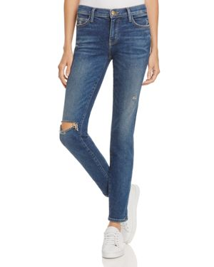 Current/Elliott The Stiletto Skinny Jeans in Wren Destroy