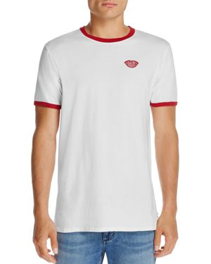 Banks Kiss Patch Ringer Tee