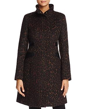 Via Spiga Leopard Print Coat - 100% Exclusive