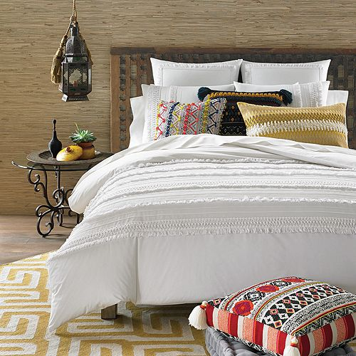 Sky - Indra Tassel Bedding Collection - 100% Exclusive